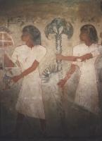 Grabmalerei aus Theben, Ägyptisches Museum Kairo