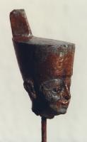 Bronzeköpfchen der Göttin Neith, Neues Reich; Ägyptisches Museum Bonn